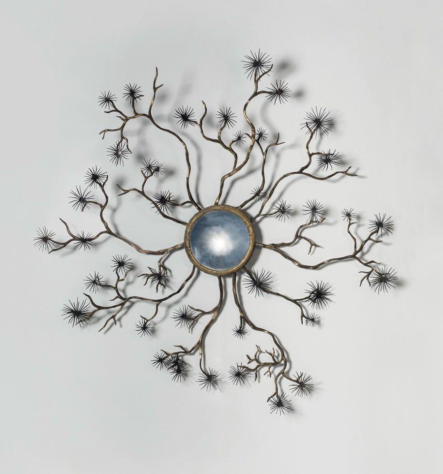 Hervé van Der Straeten (b. 1965), Etoile, a unique large mirror, 2003. Estimate: £30,000-50,000. Offered in Design on 16 October at Christie's in London