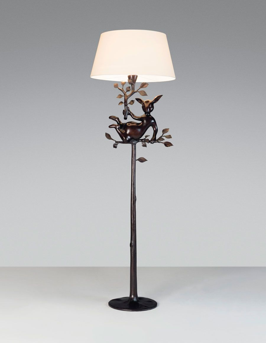 Hubert le Gall (b. 1961), An Odilon 01 standard lamp, 2017. Estimate: £10,000-15,000. Offered in Design on 16 October at Christie's in London