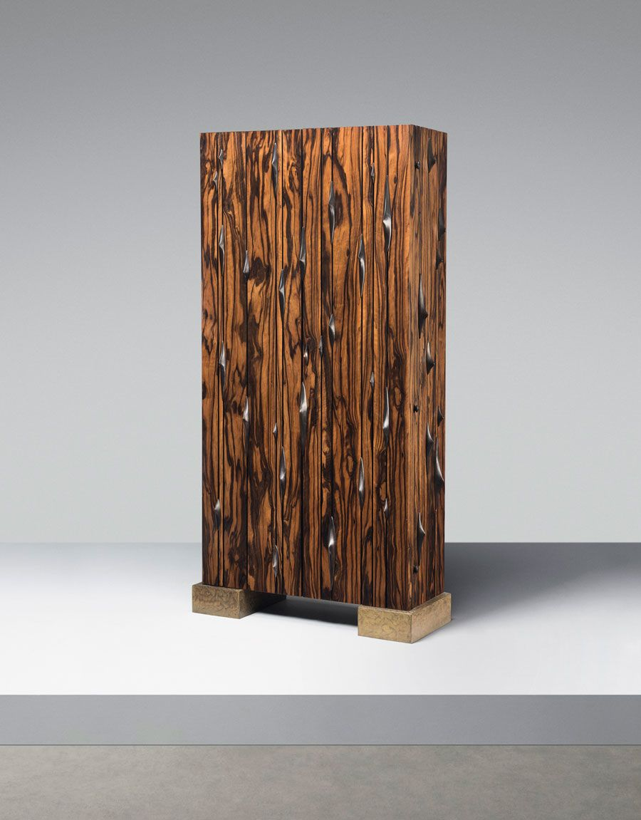 Hervé van der Straeten (b. 1965), Epines, a unique cabinet, 2002. Estimate: £30,000-50,000. Offered in Design on 16 October at Christie's in London