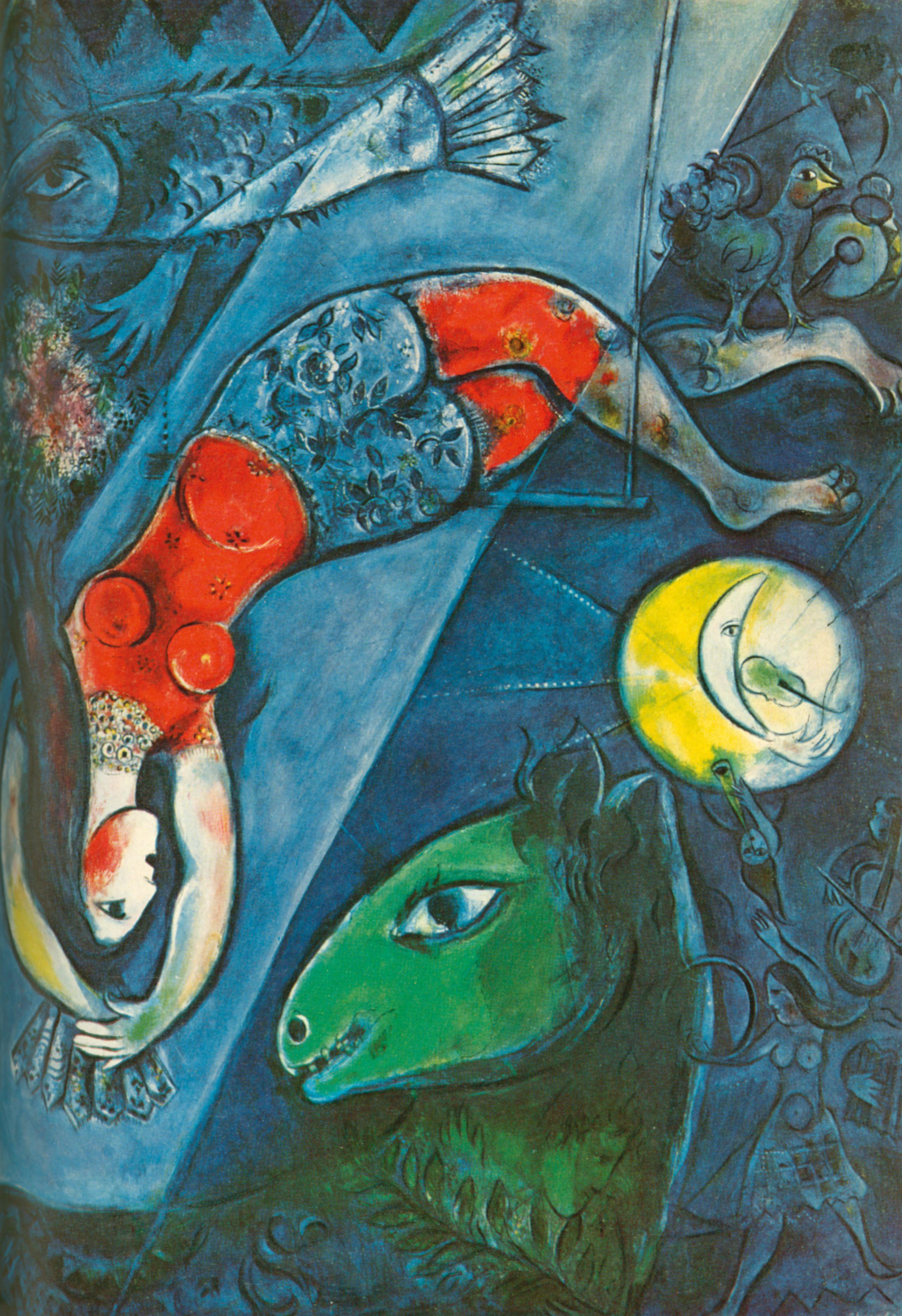 Impressionist Modern Art Day Sale New York Expert View Marc Chagall La Chevre Bleue Christie S