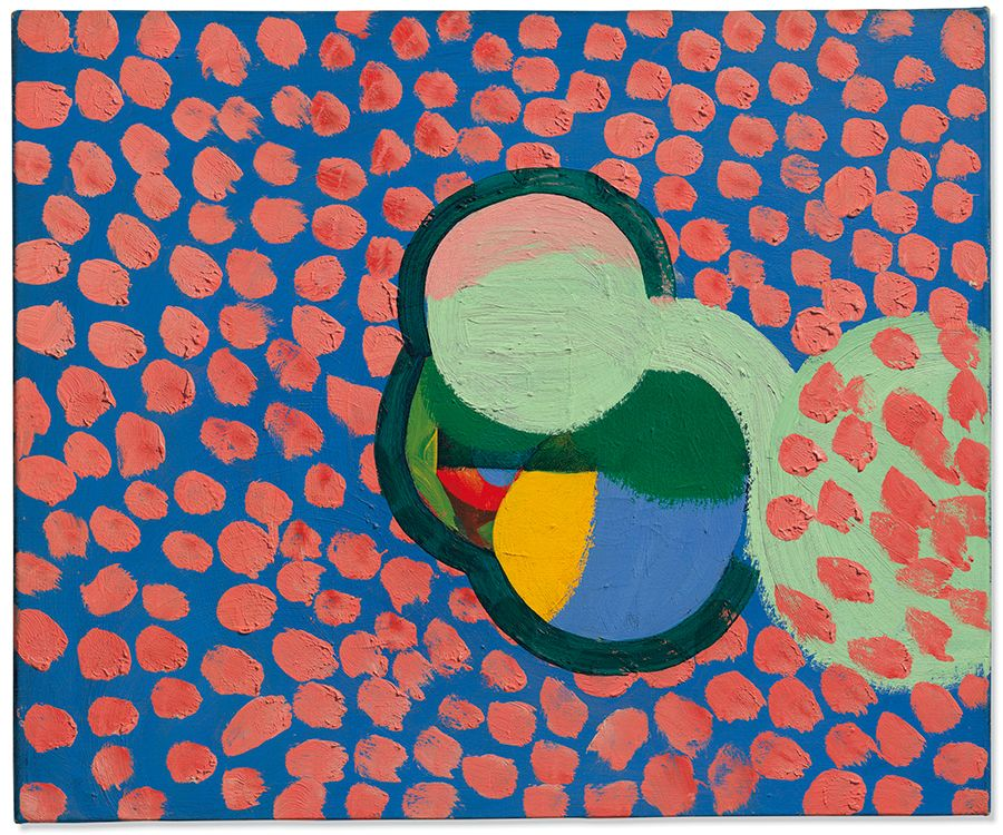 Howard Hodgkin (1932-2017), Mrs C, 1966. 19⅞ x 24⅛ in (50.5 x 61.4 cm). Estimate: £200,000-300,000. Offered in The Jeremy Lancaster Collection on 1 October 2019 at Christie's in London
