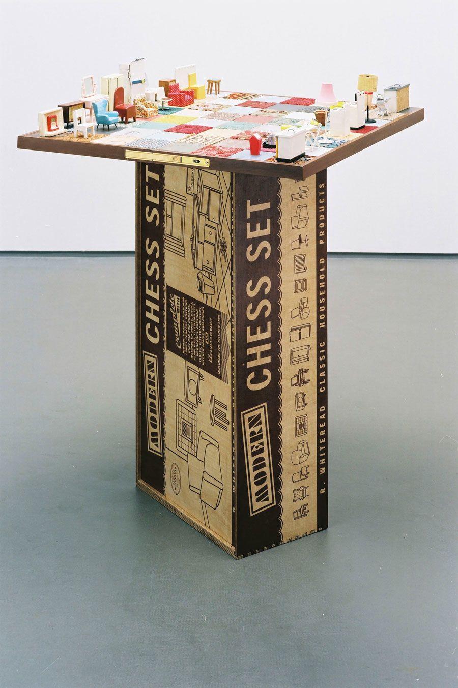Rachel Whiteread (b. 1963), Modern Chess Set. Box 245 x 750 x 415 mm. Estimate: £10,000-15,000. Offered in Prints & Multiples on 18 September 2019 at Christie's in London