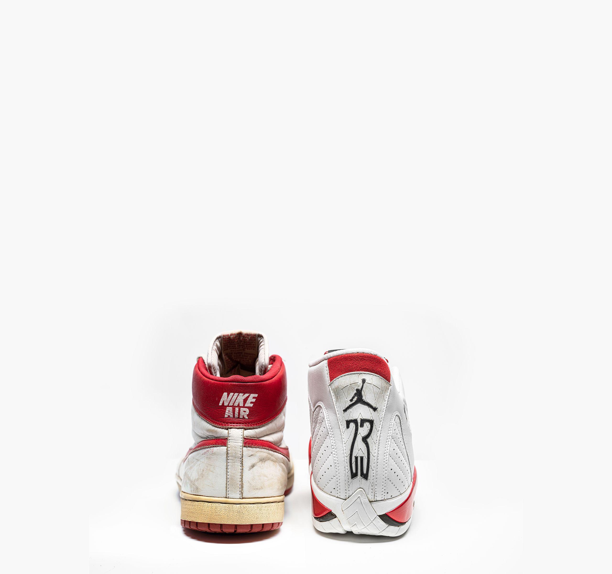 michael jordan high top sneakers
